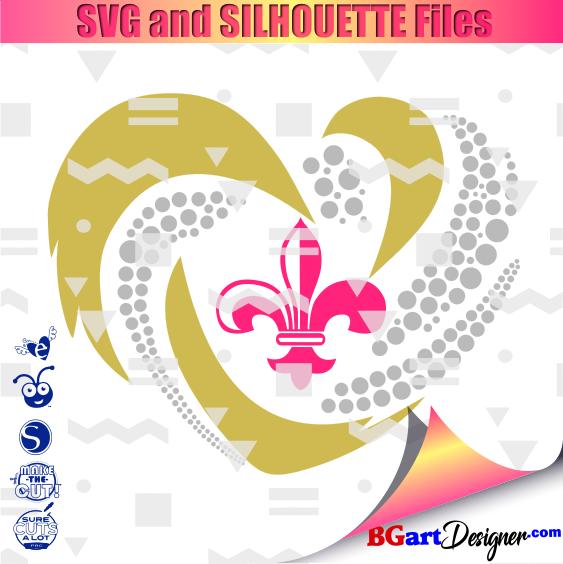 Lllᐅheart Saints Svg Bgartdesigner Cricut Designs