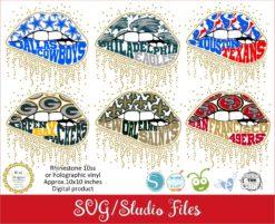 Lllᐅlips Nfl Teams Svg Bgartdesigner Cricut And Silhouette Designs