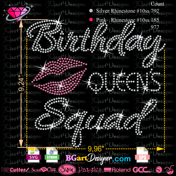 birthday-queens-squad-lips Crafting Newsletter Templates on classroom weekly, fun company, free printable monthly, microsoft word, free office,
