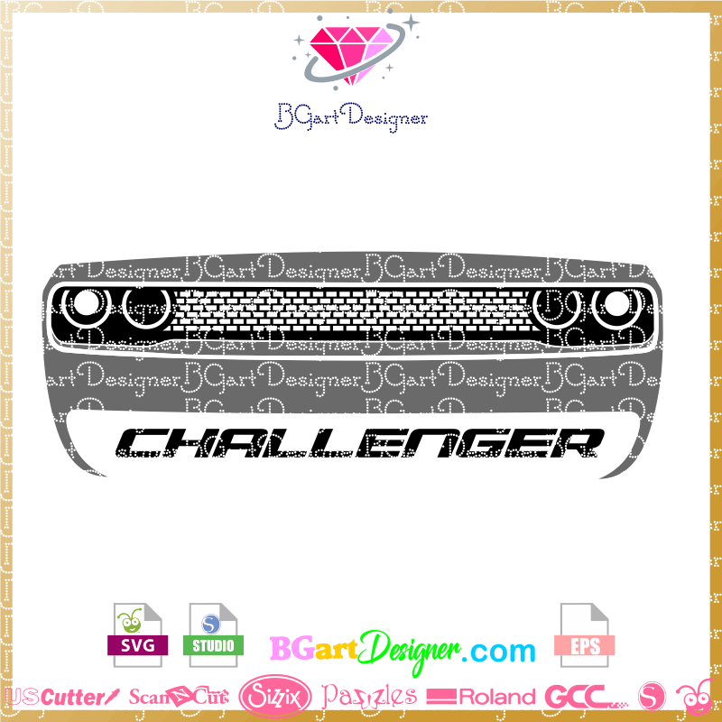 lllᐅdodge challenger 2019 svg the best cut files cricut dodge challenger 2019 svg