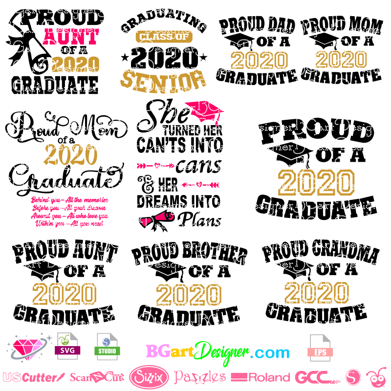 Lllᐅgraduation Class Senior Svg Bgartdesigner The Best Cut Files