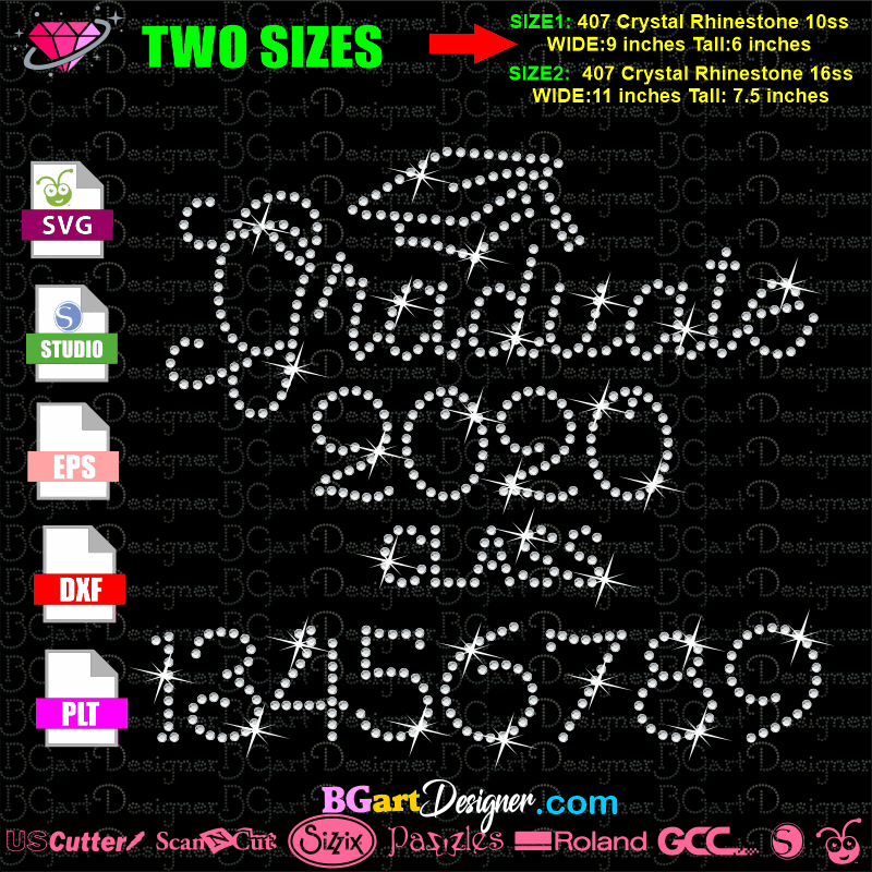 View Senior Svg Class Of 2018 Cut File Svg Htv T Shirt Design Vinyl (Svg And Dxf Files) Silhouette Studios, Cameo, Cricut, Instant Download Design