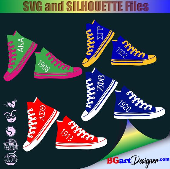 69000adc93ef lllᐅSorority shoes bundle - Bgartdesigner  Cricut and silhouette ...